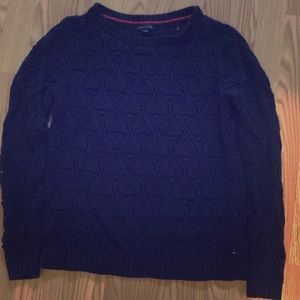 Tommy Hilfiger Cable-Knit Sweater Sz Large